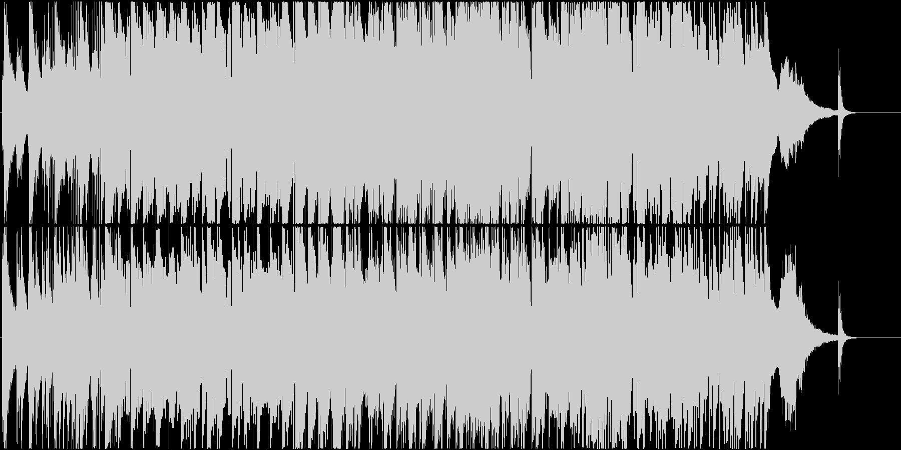 叙情的なSaxメインのJAZZバラードの未再生の波形
