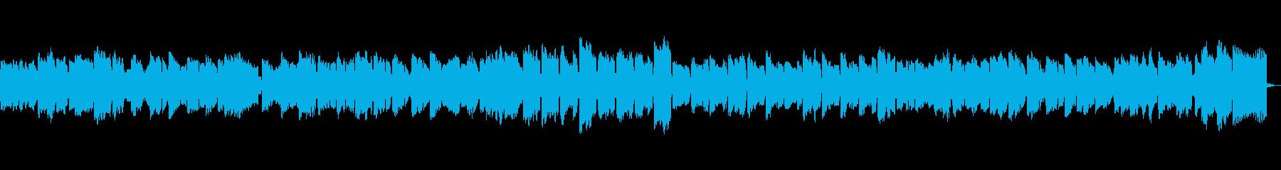 のどかな3拍子のファゴットの再生済みの波形
