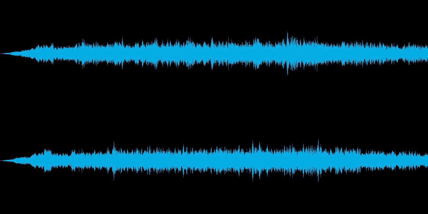 SFっぽい音その2です。「ヒュイーン」の再生済みの波形