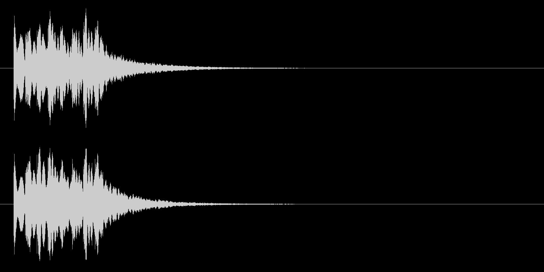 キラキラ系アイキャッチ3の未再生の波形
