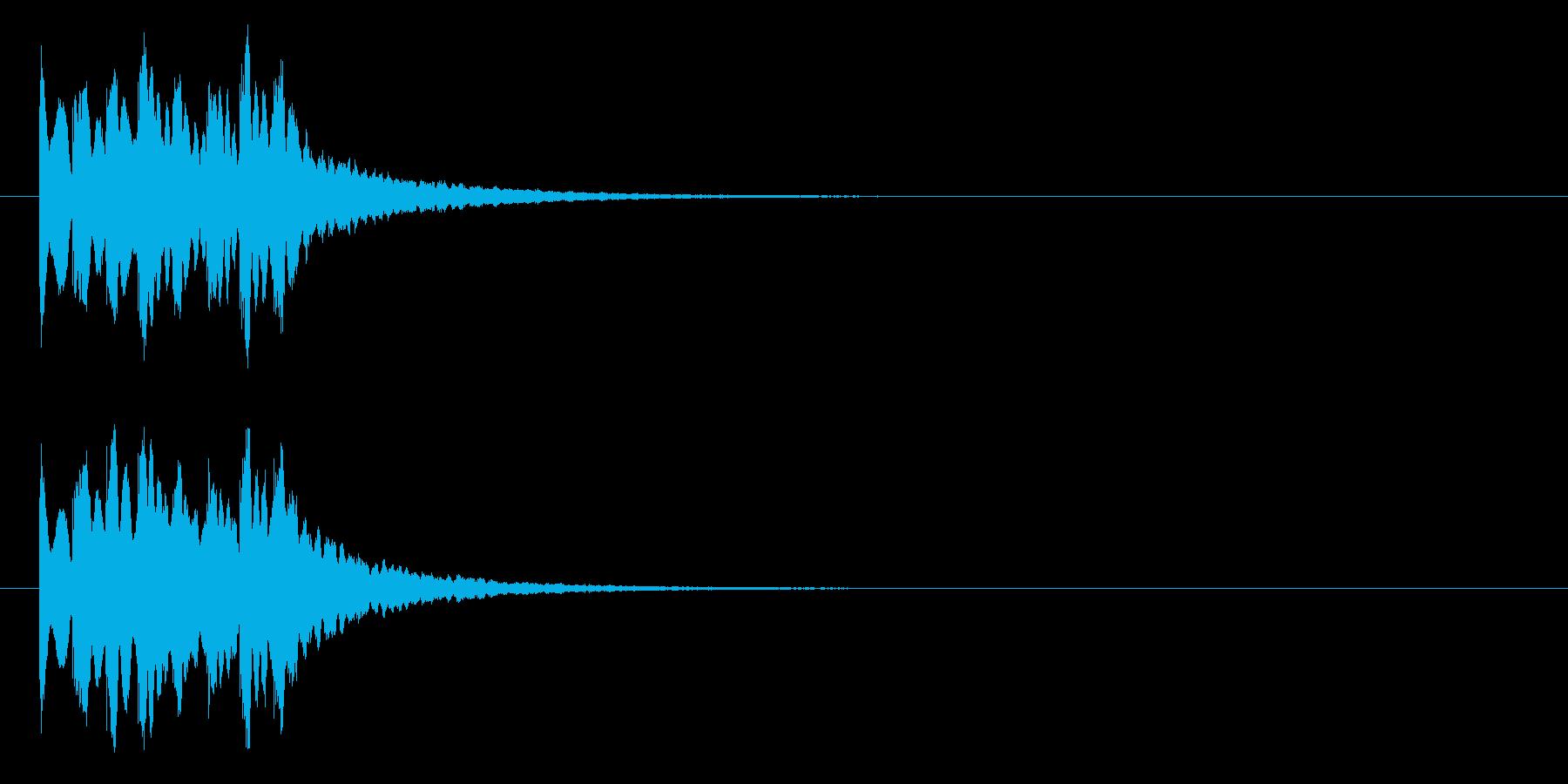 キラキラ系アイキャッチ3の再生済みの波形