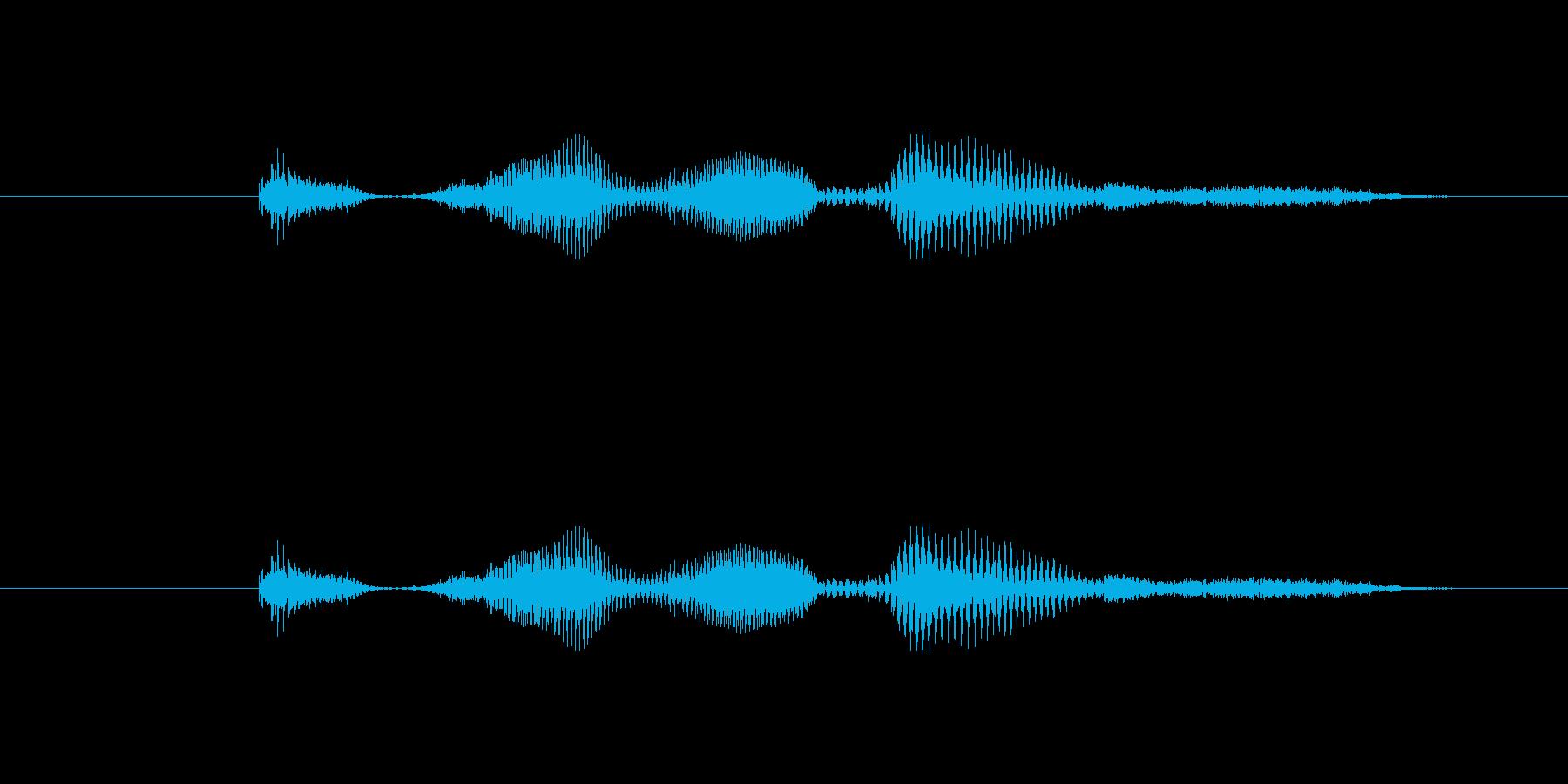 【時報・時間】1時ですの再生済みの波形