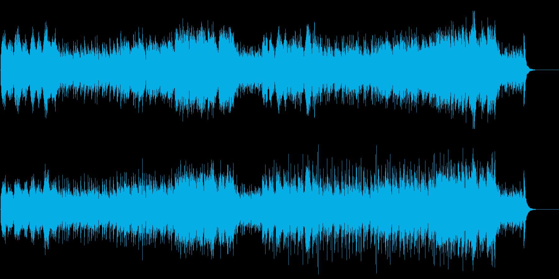 爽やかなポップ/ワールド/BGの再生済みの波形
