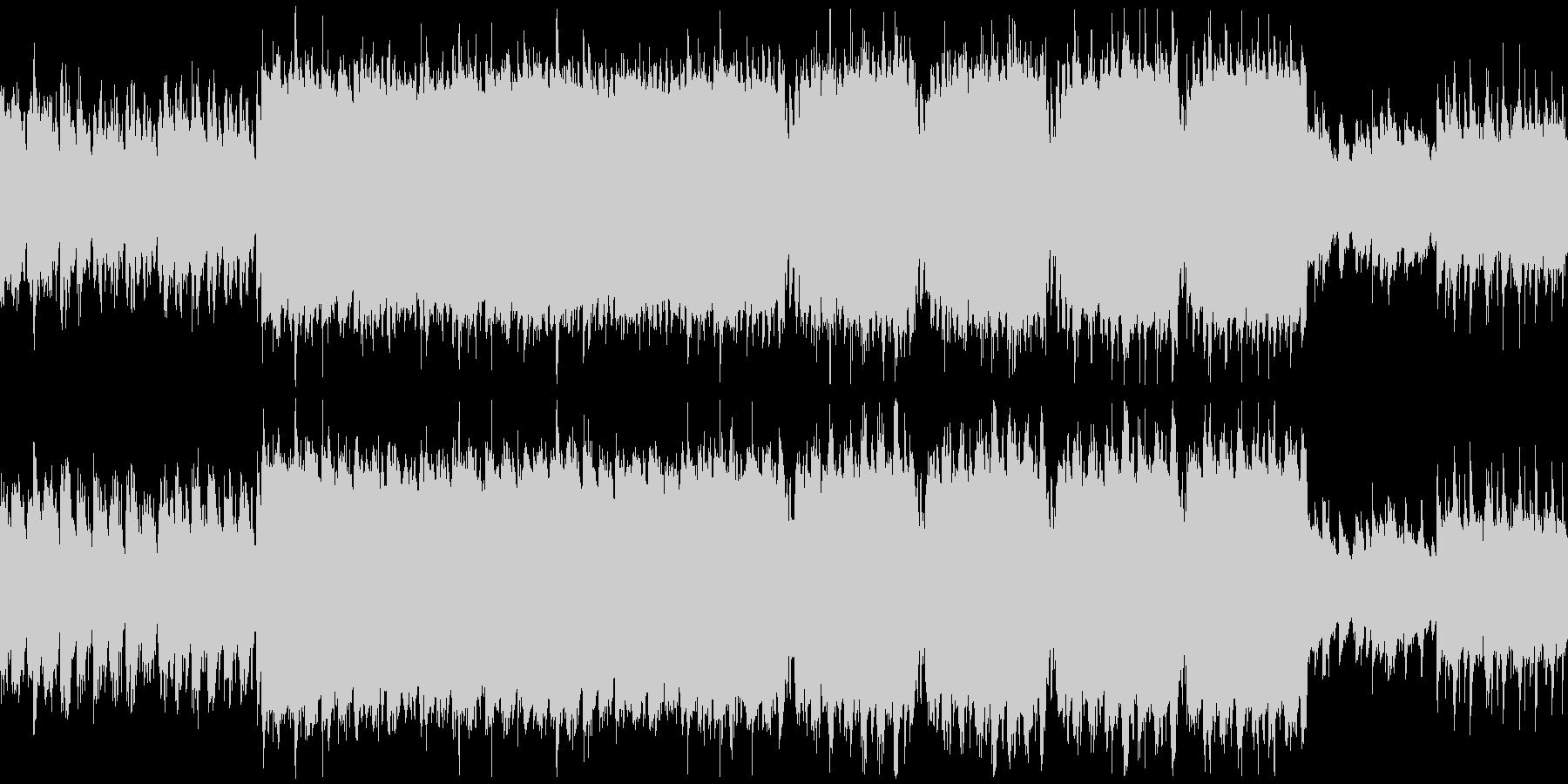 ほのぼのとした3拍子の楽曲の未再生の波形