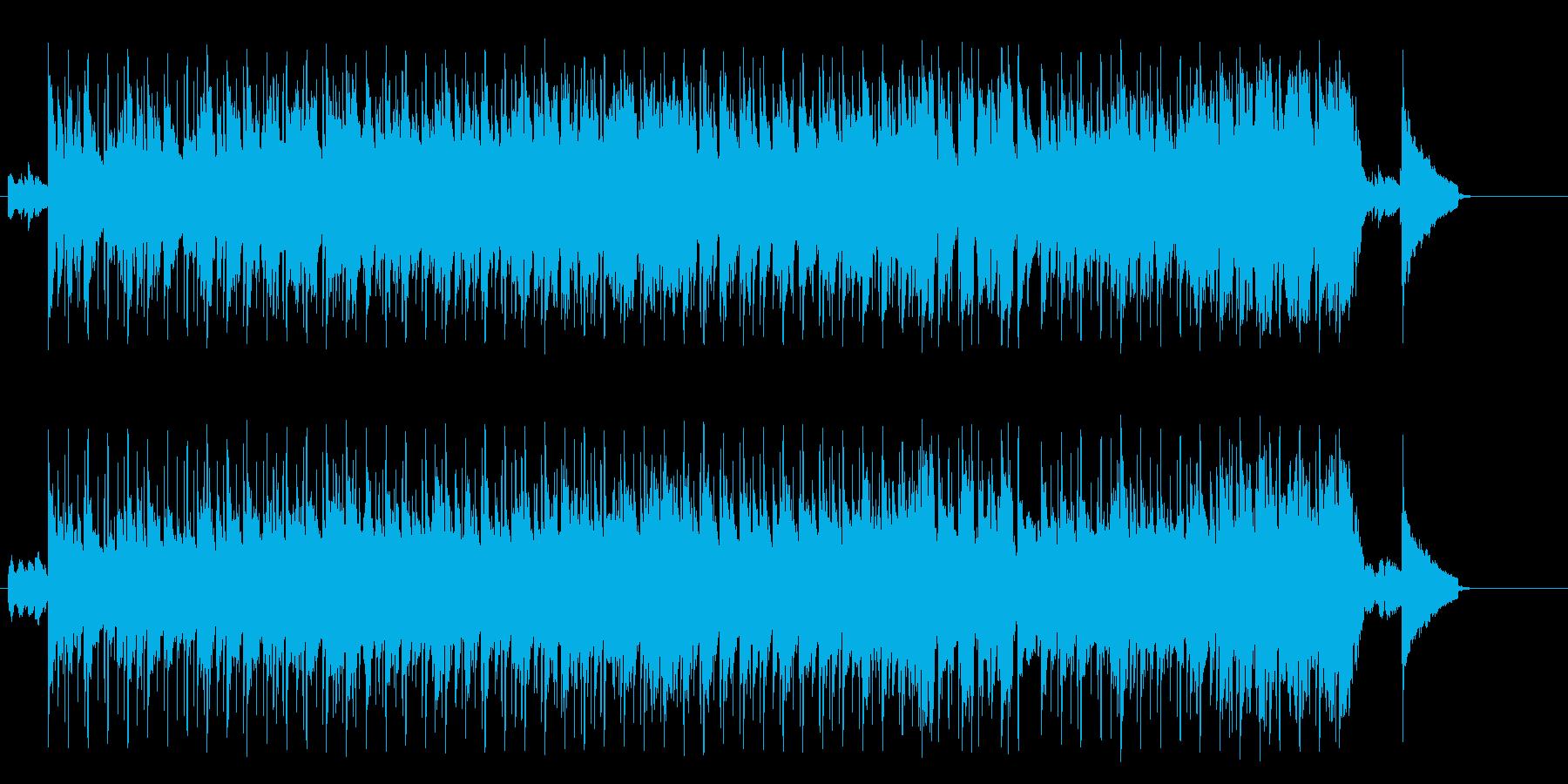 しっとりとしたBG/イージーリスニングの再生済みの波形