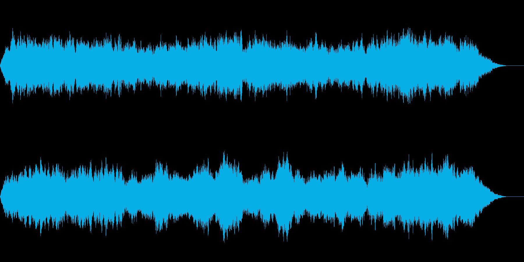 宇宙のように神秘的で壮大な曲の再生済みの波形