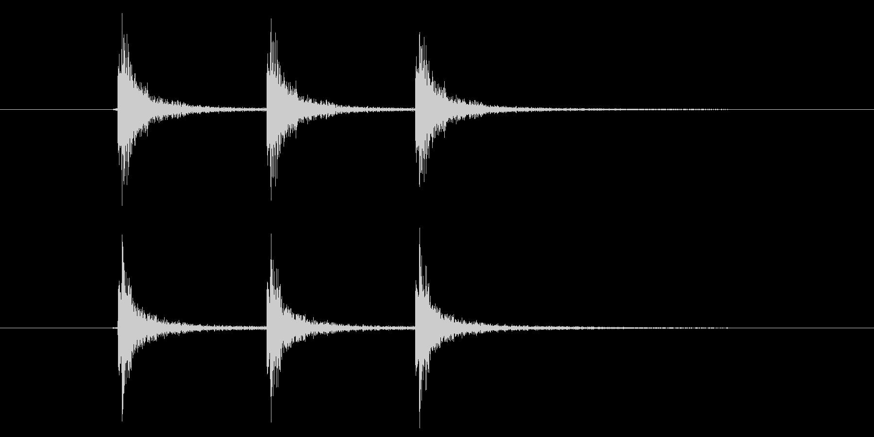 作る/かなづち/装備品作成/連続の未再生の波形