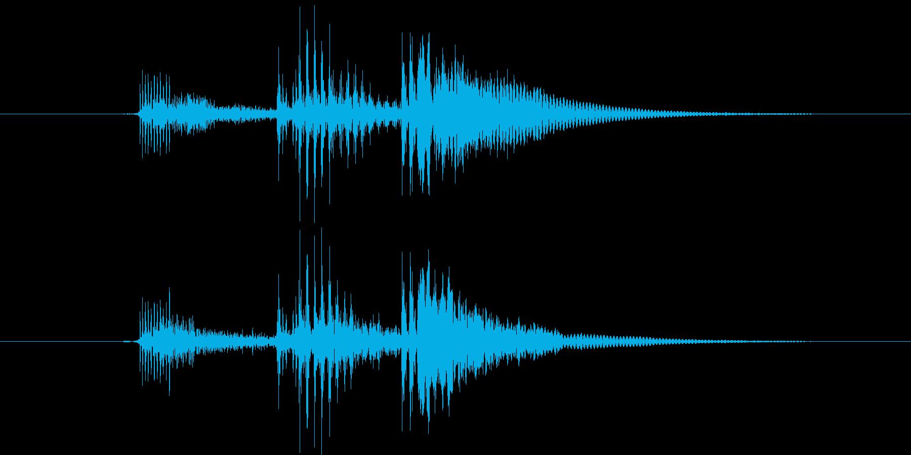 コルク栓やスクリューキャップを抜く音04の再生済みの波形