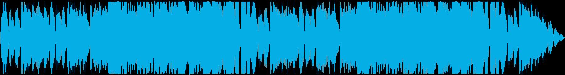 RPG・アニメのサントラ風オーケストラの再生済みの波形