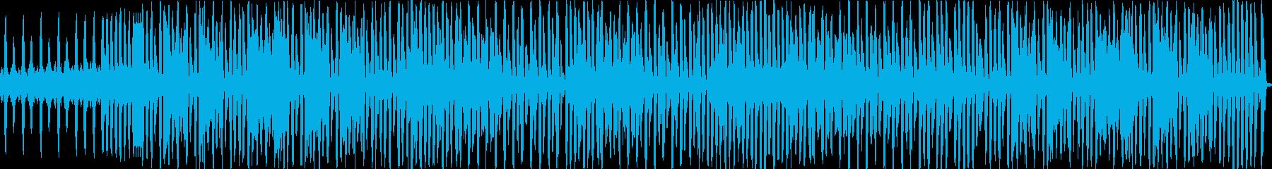 スウィングをハウス風にアレンジの再生済みの波形