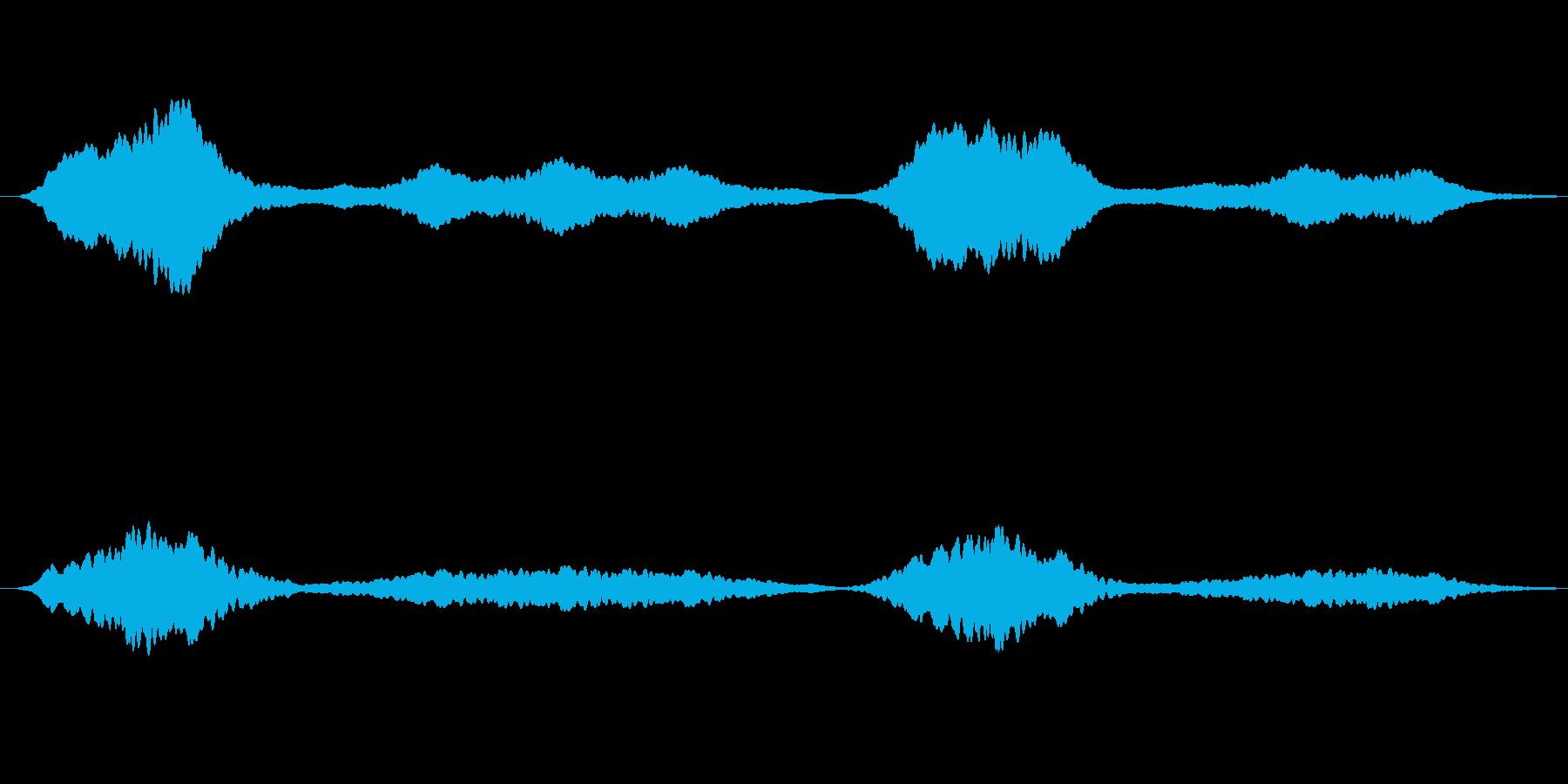 クリスタルの輝き シンプル ループの再生済みの波形