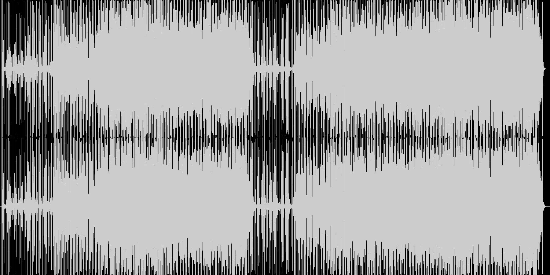 ほのぼのした日常系アコースティックロックの未再生の波形
