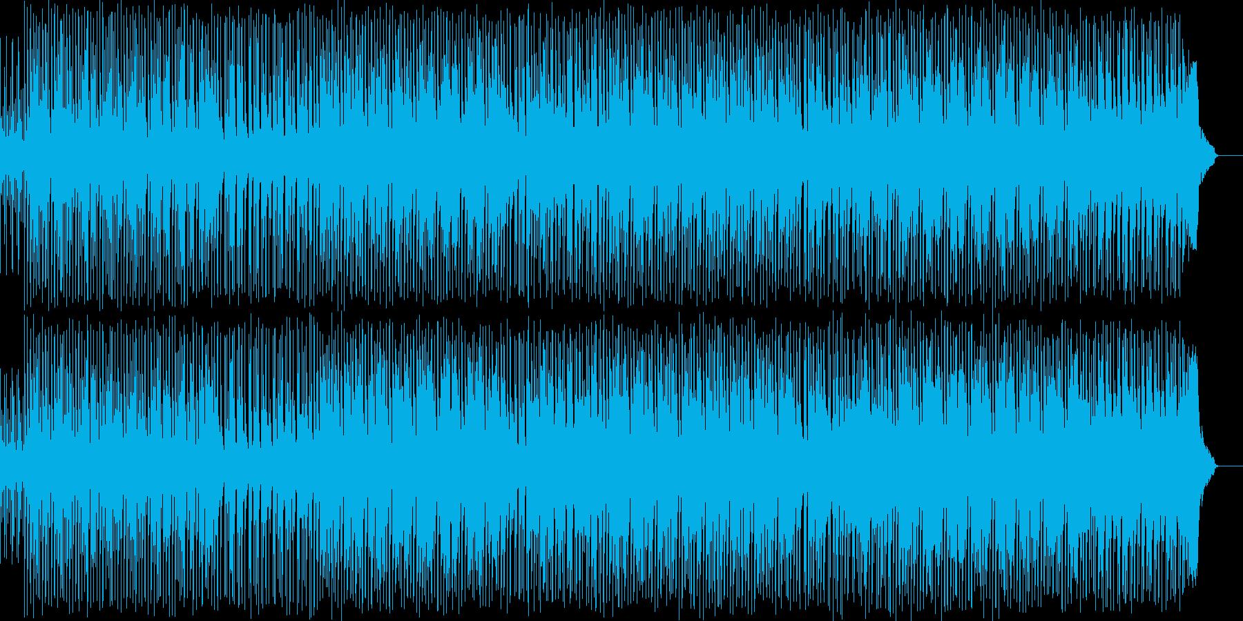 都会の日常的なブルースの再生済みの波形