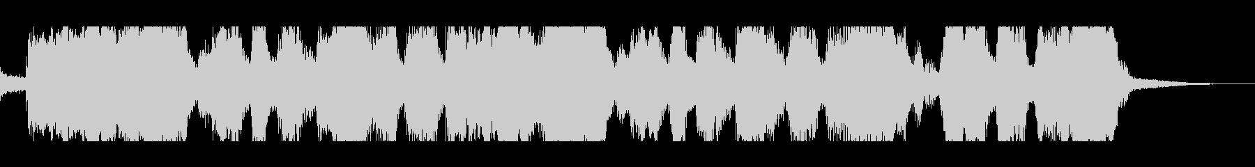 テンポのいいスカポップロックの未再生の波形