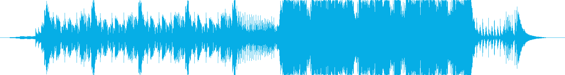 ダブやレゲエイントロのダブステップの再生済みの波形