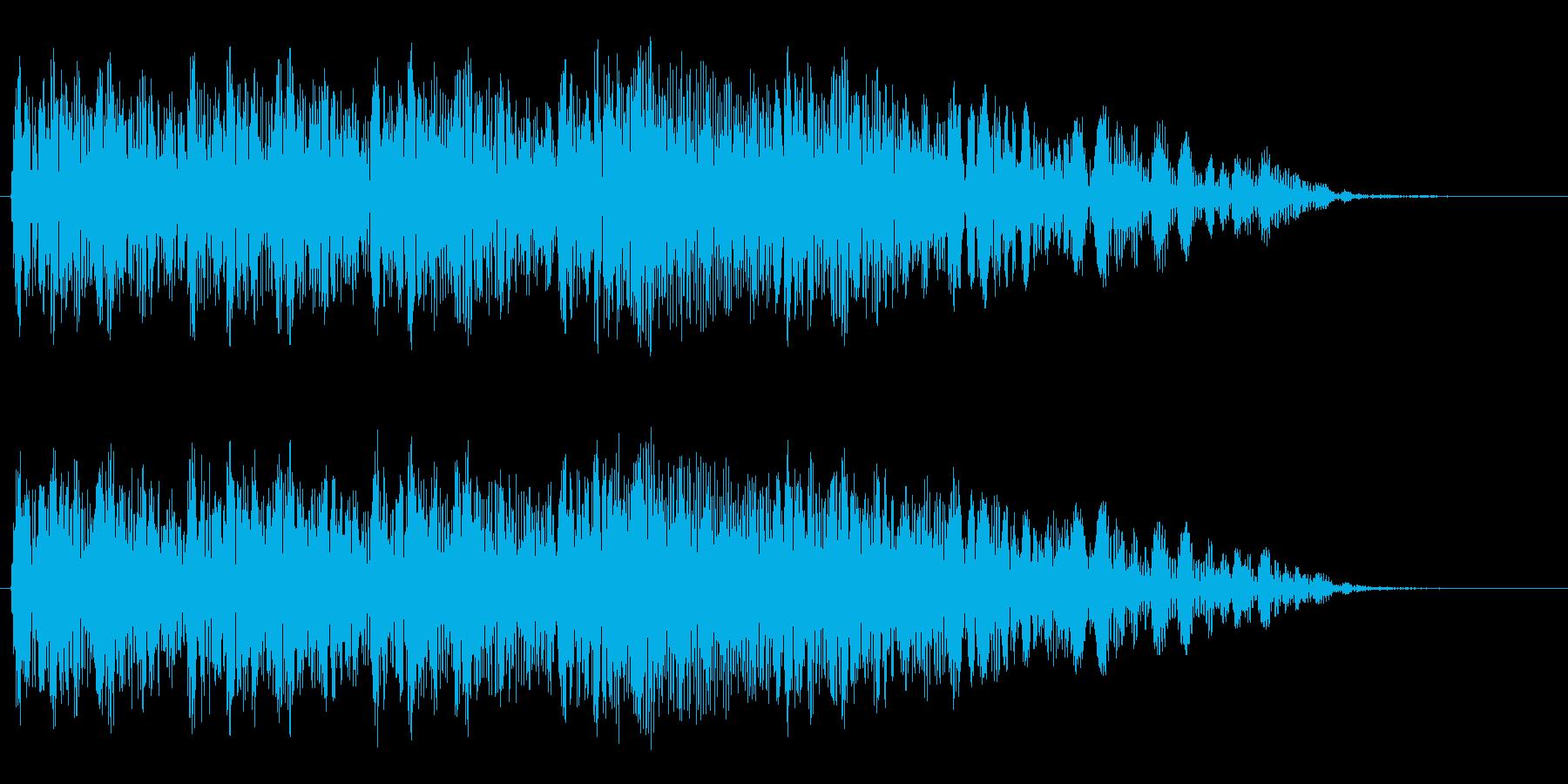 ブォーンブォーン・・・(不吉な効果音)の再生済みの波形