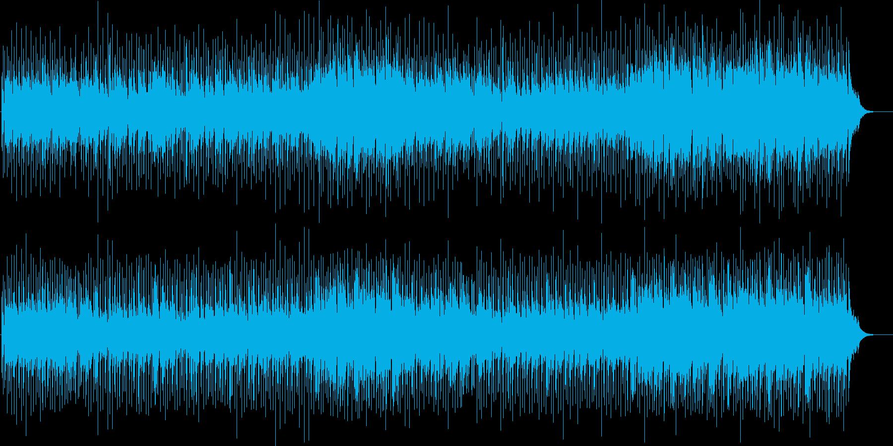 フレキシブルなミディアム・フュージョンの再生済みの波形