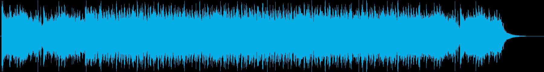 未来的、幻想的なデジタルポップサウンドの再生済みの波形