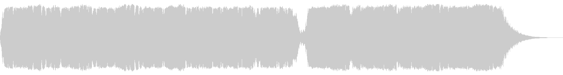サウンドトラック-再生-の未再生の波形