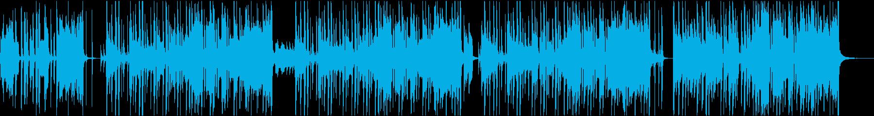 アメリカ民謡・聖者の行進のカラオケの再生済みの波形