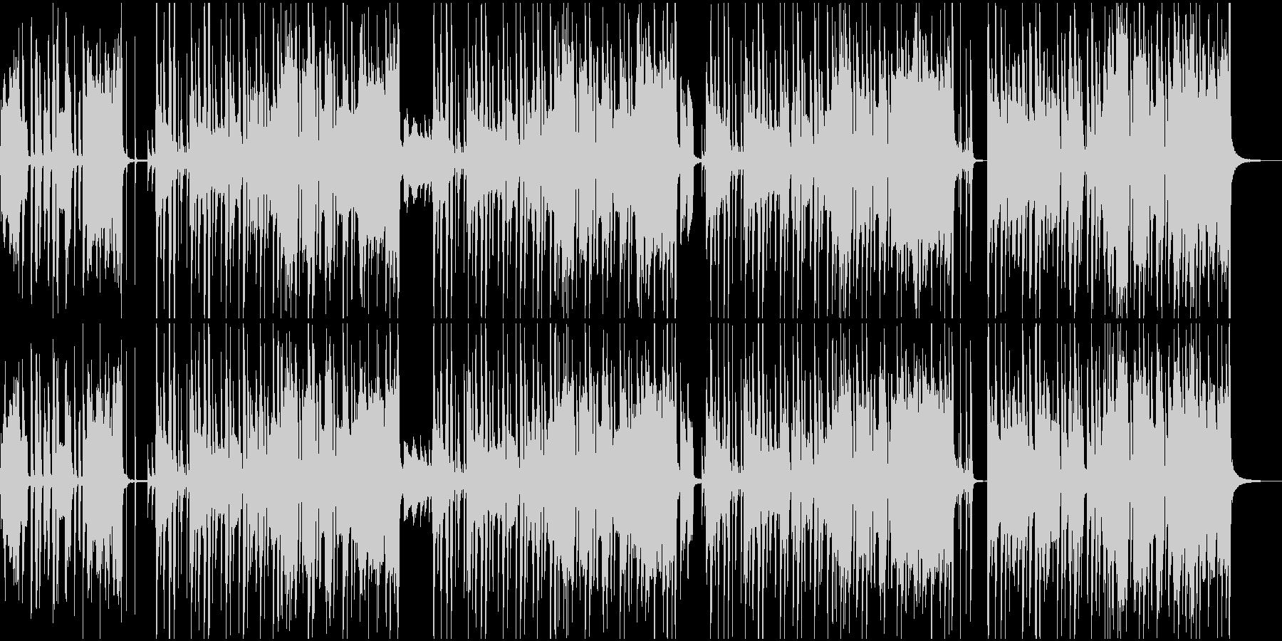 アメリカ民謡・聖者の行進のカラオケの未再生の波形