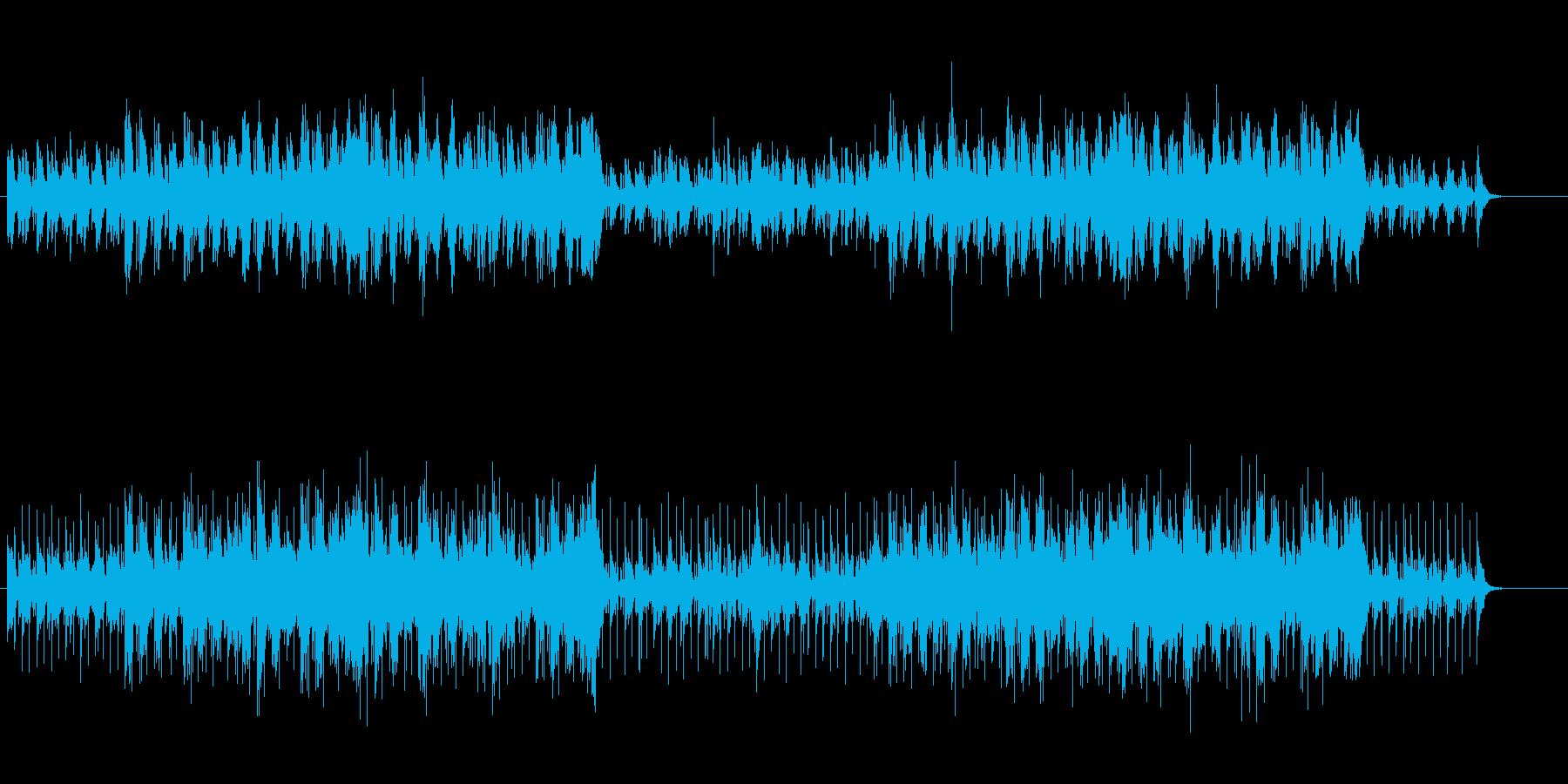 サヴァンナにトリップする民族音楽風の再生済みの波形