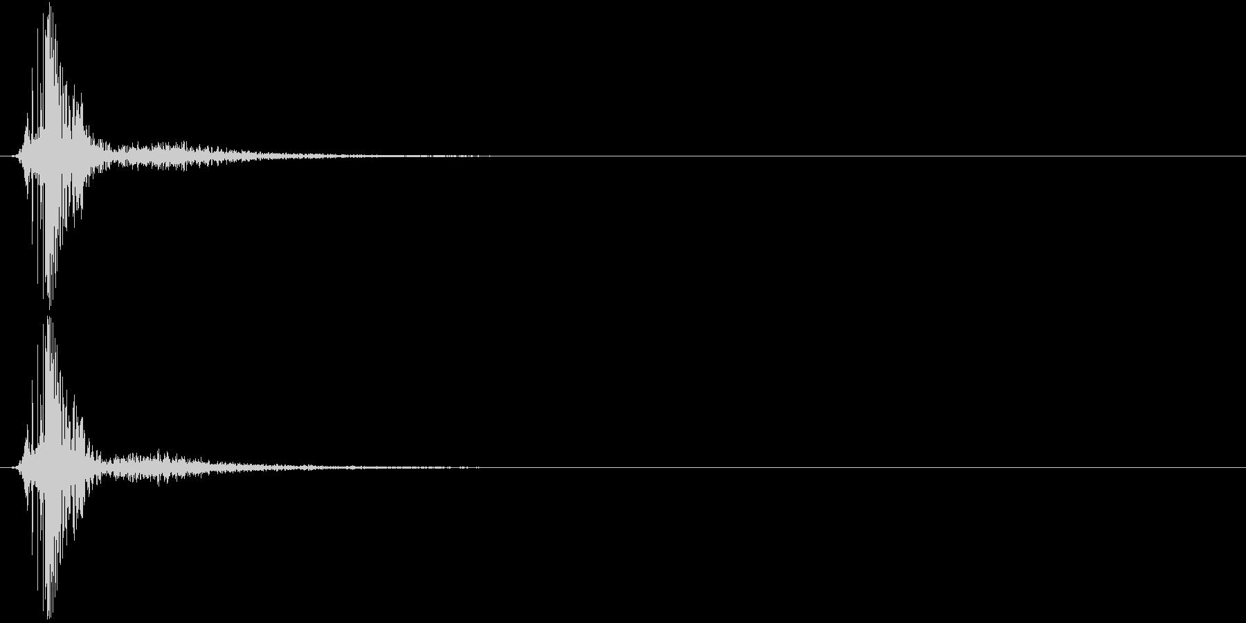 KAKUGE 格闘ゲーム戦闘音 46の未再生の波形