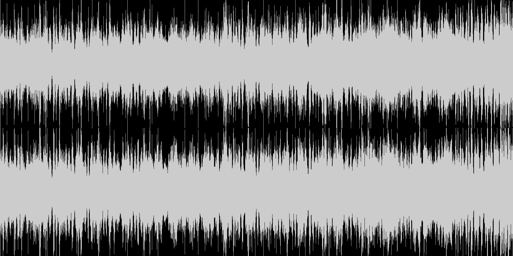 蒸気音の未再生の波形