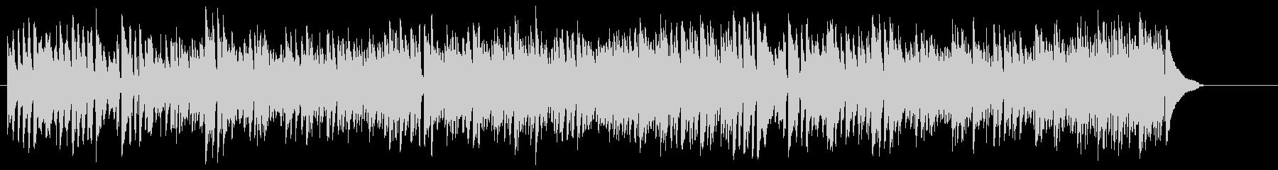スタンダードな4ビート・ジャズの未再生の波形