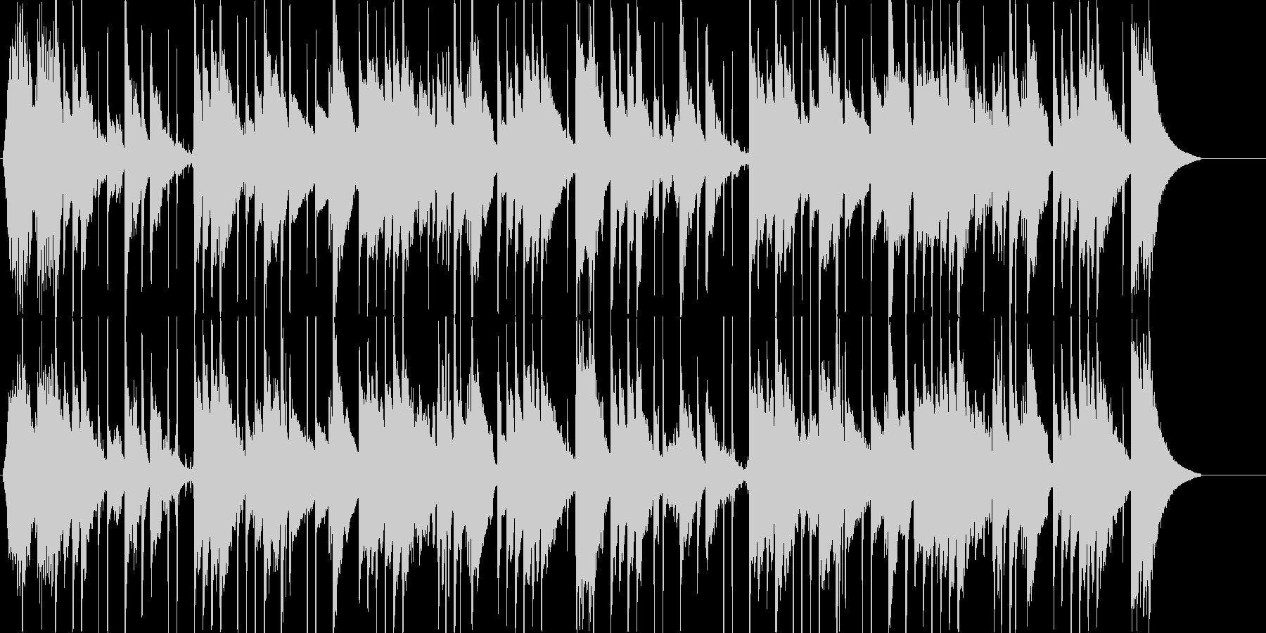 ミステリー用BGMの未再生の波形