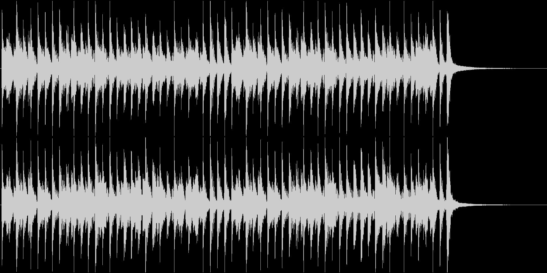 らくらくラグタイムの未再生の波形
