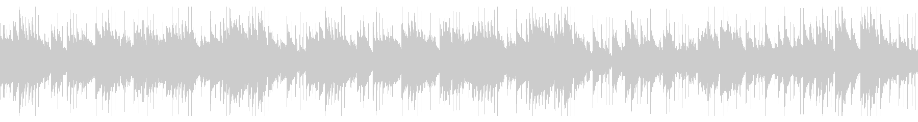 ロマンチックなジャズピアノ曲(ループ)の未再生の波形