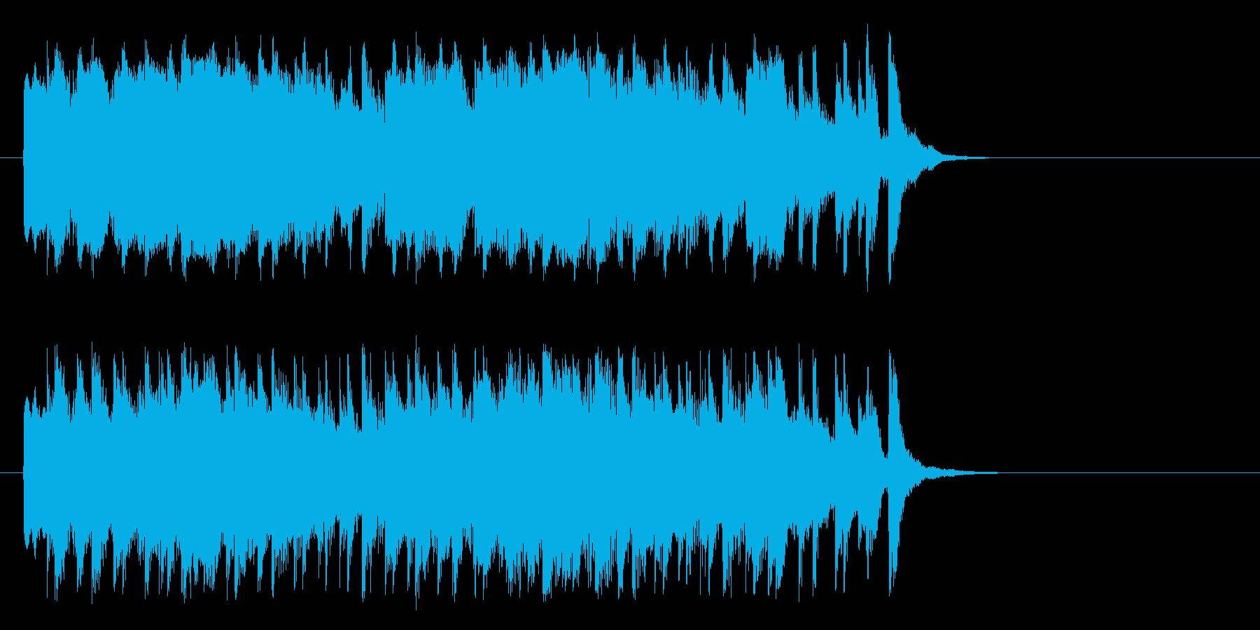 のんびりした童謡風ポップ(Aメロ)の再生済みの波形
