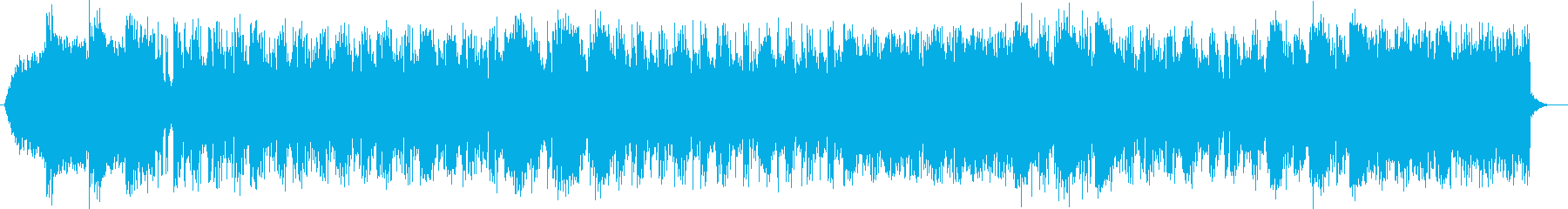 ミステリアスでダークなシンセサウンドの再生済みの波形