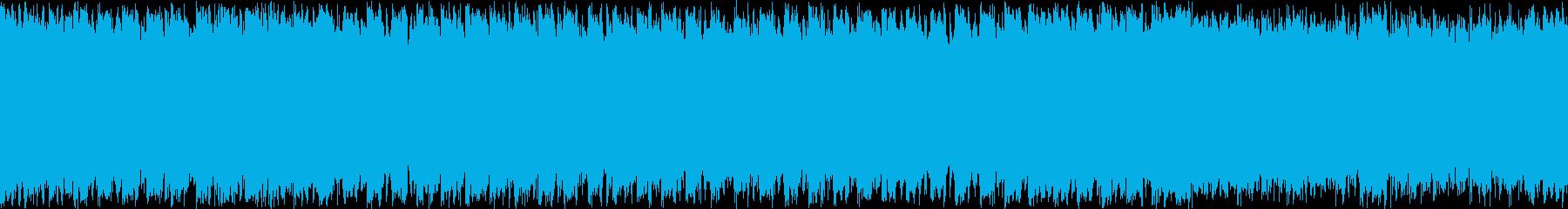 トランス系 ループ リザルト 結果などにの再生済みの波形