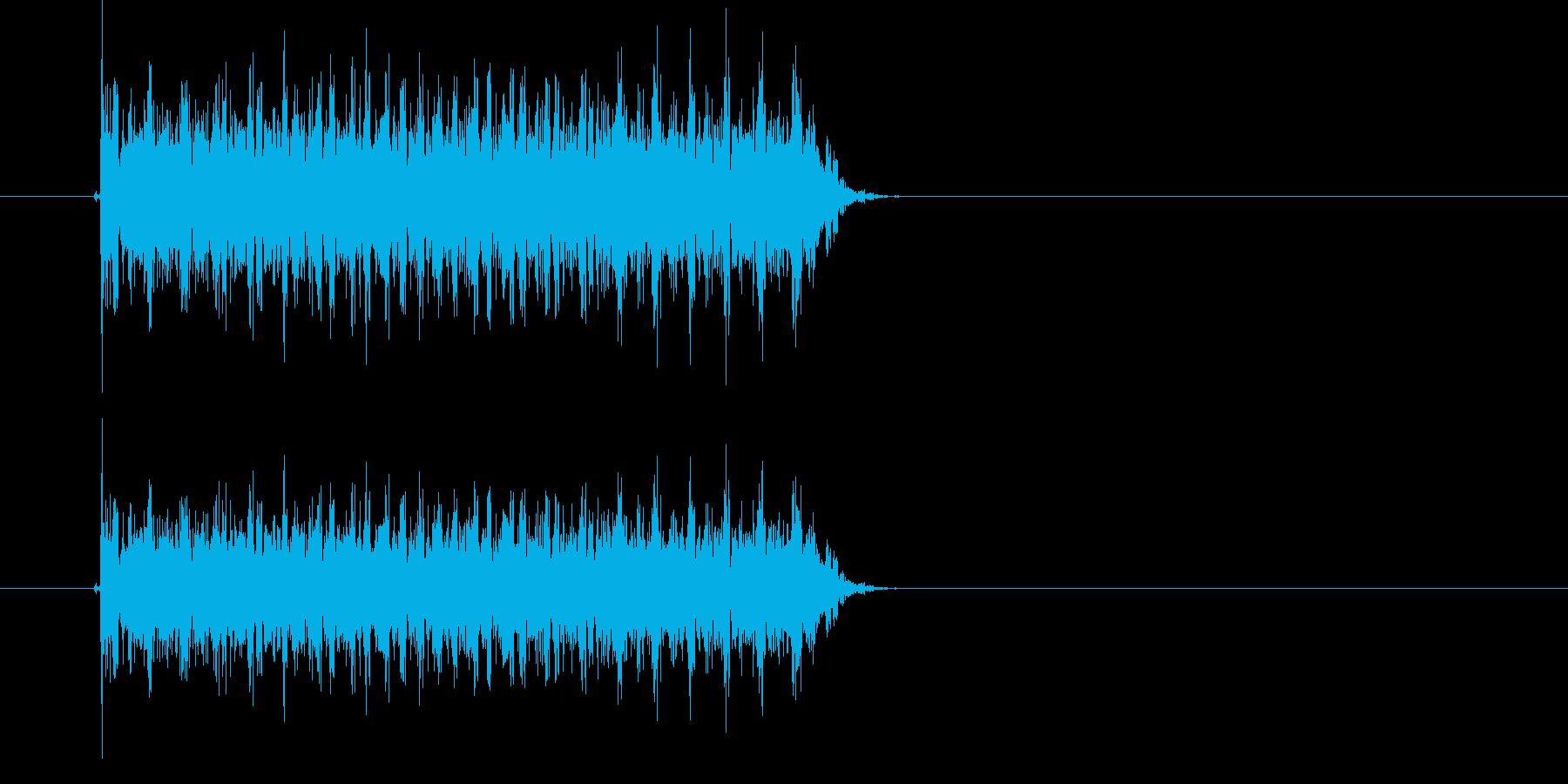シュルシュル(宇宙、落下、回転)の再生済みの波形