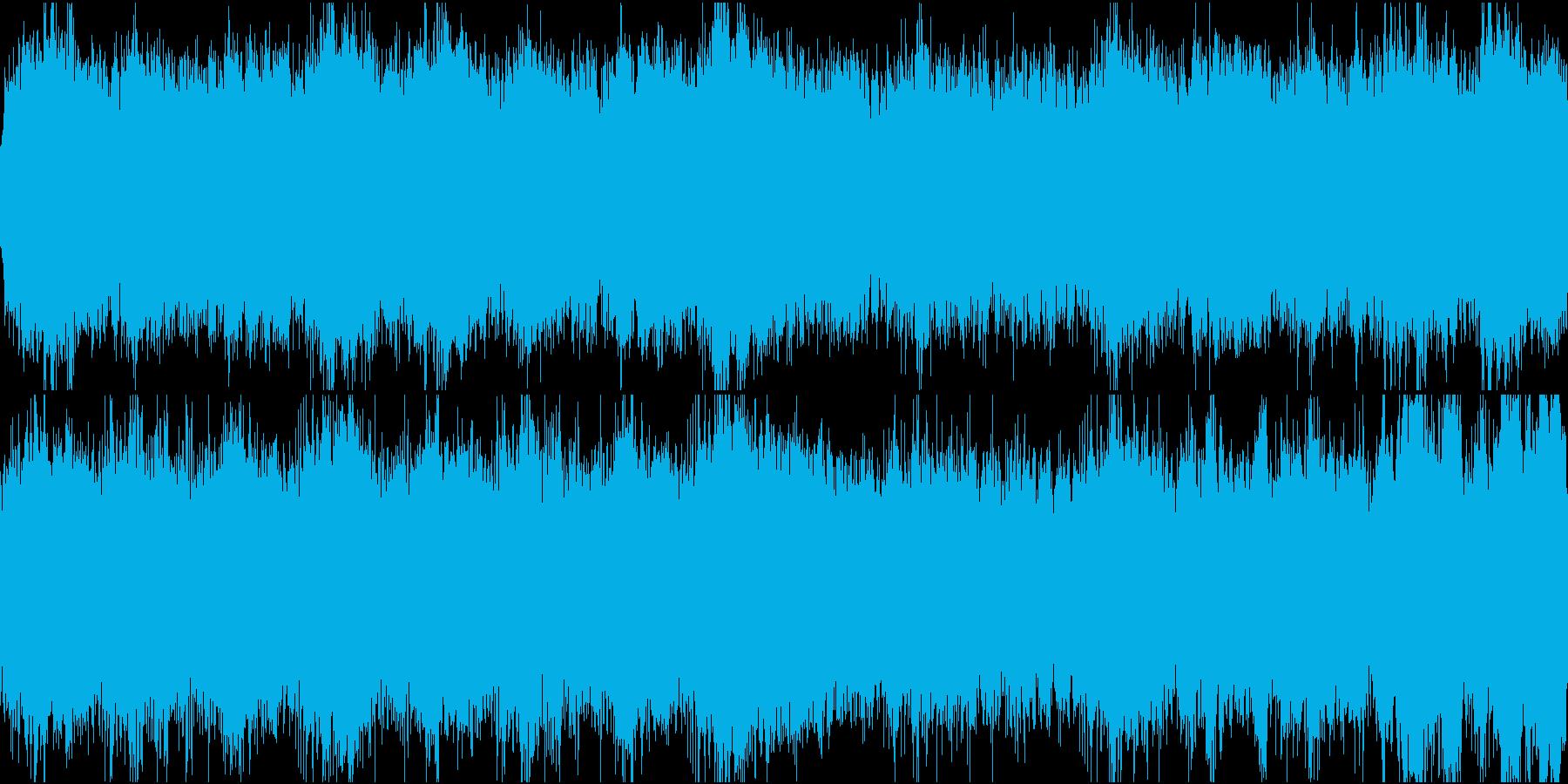 追われる 緊迫感 ループの再生済みの波形