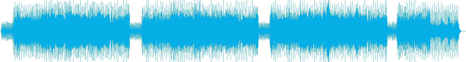 東洋の木漏れ日を表現した曲の再生済みの波形