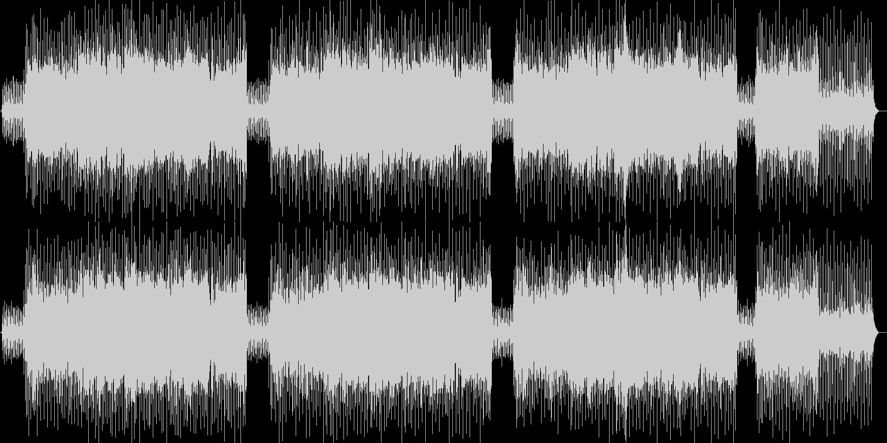 東洋の木漏れ日を表現した曲の未再生の波形