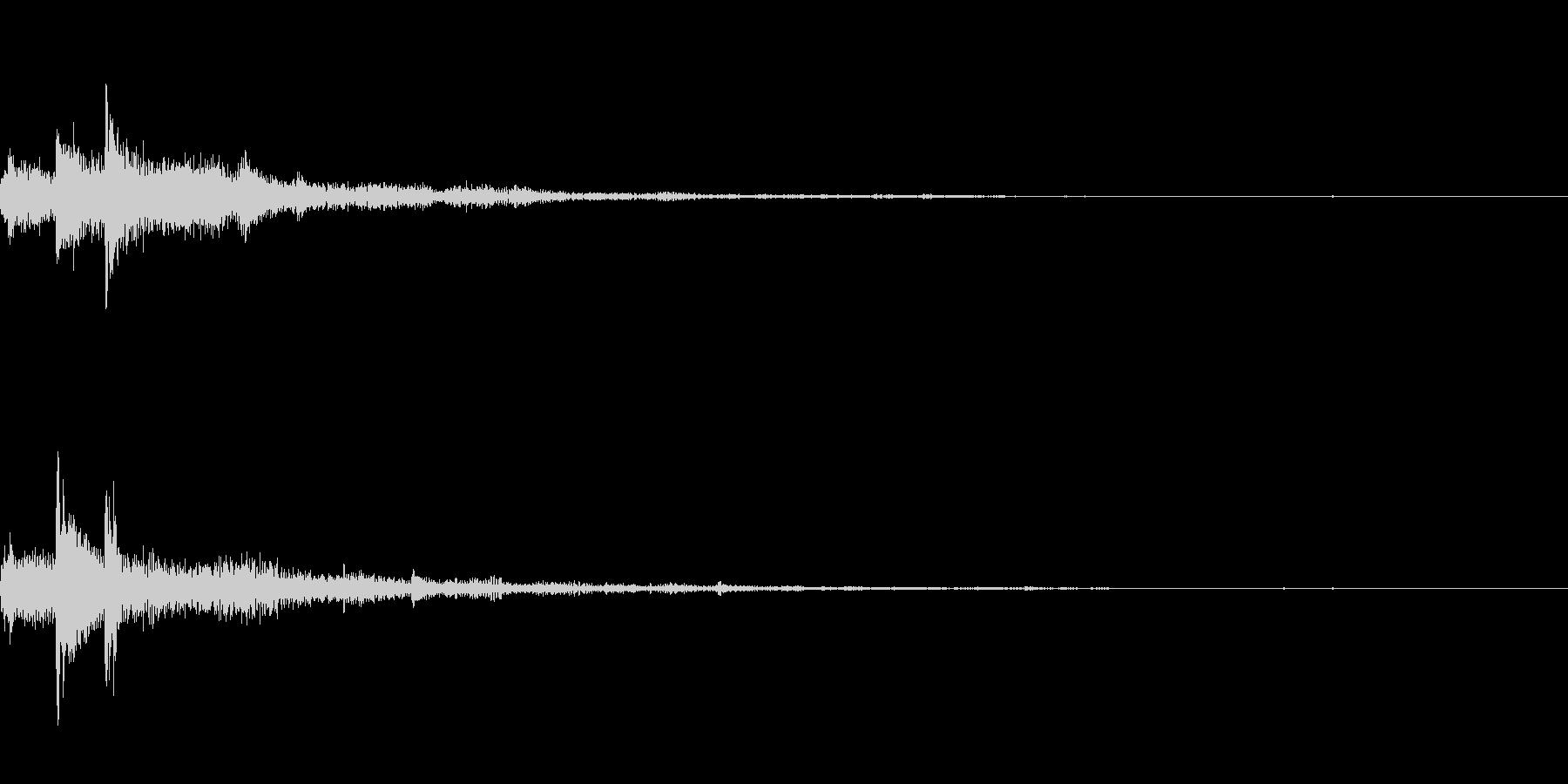 ぽろん♪(連鎖03)の未再生の波形