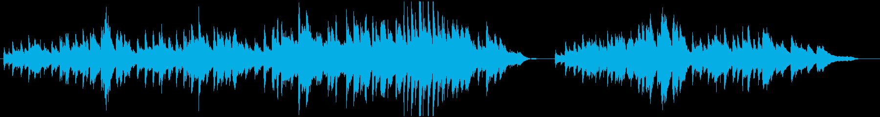 木漏れ日と小鳥のさえずり(ピアノソロ)の再生済みの波形