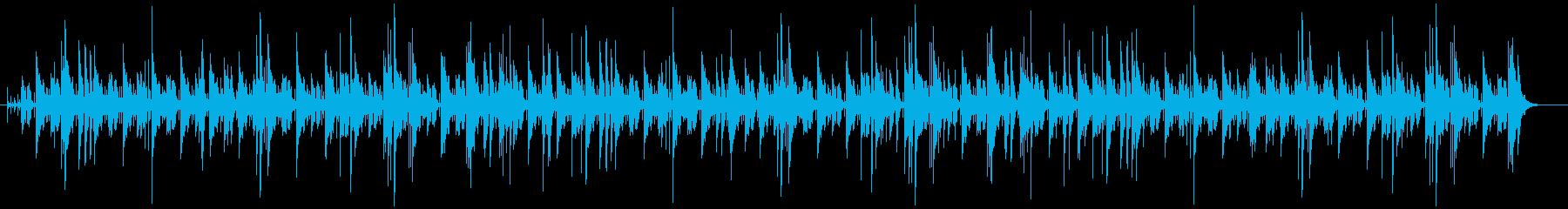 打楽器の響きが良く伝統的でリズミカルな曲の再生済みの波形