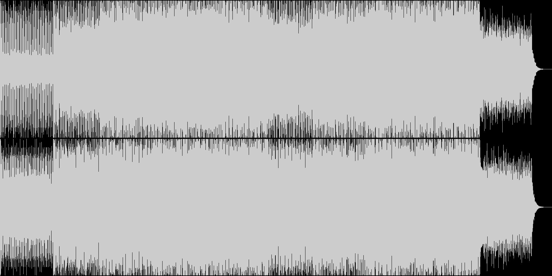 EDMクラブ系、製品紹介、商品紹介-06の未再生の波形