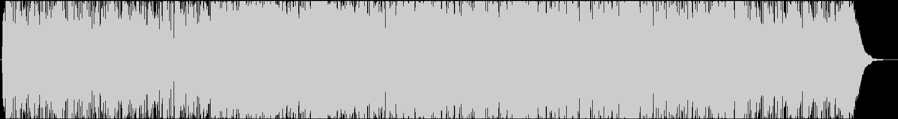ほのぼの心温まる軽快なポップ・ロックの未再生の波形