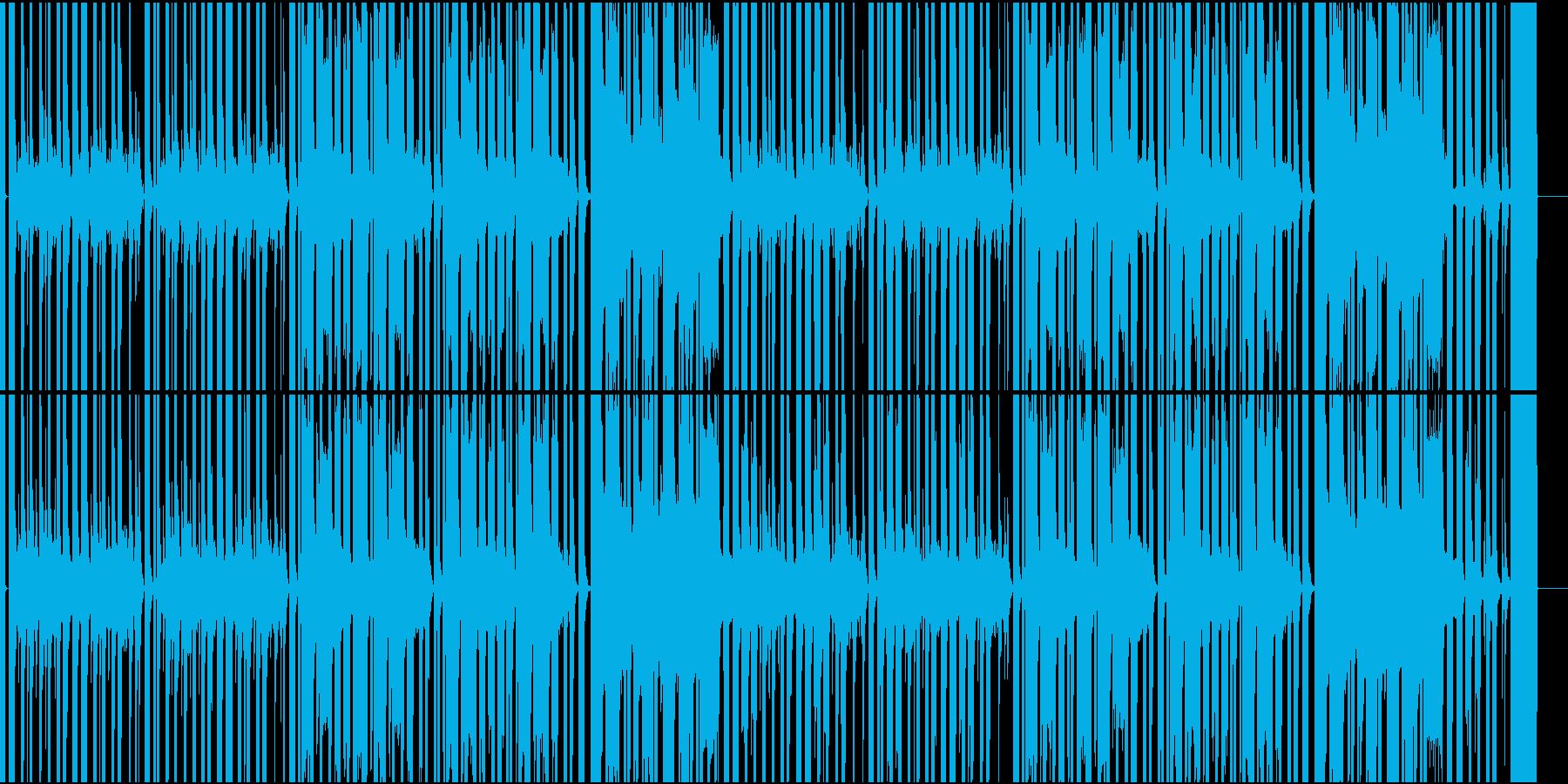 ドット系ゲームに最適な8bitBGMの再生済みの波形