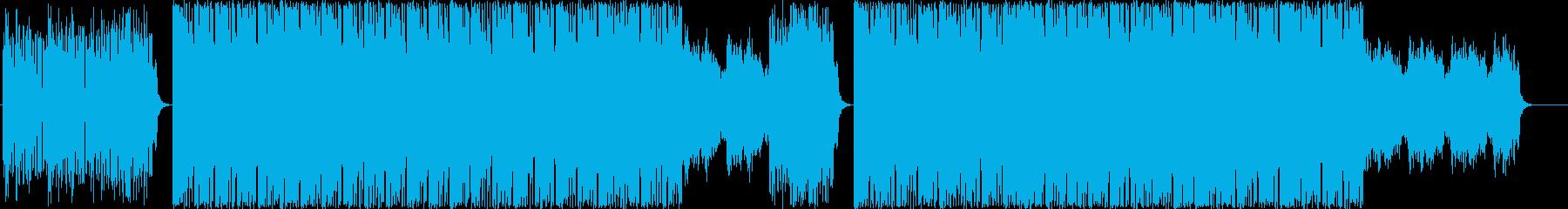 エレクトロニックフュージョンの再生済みの波形