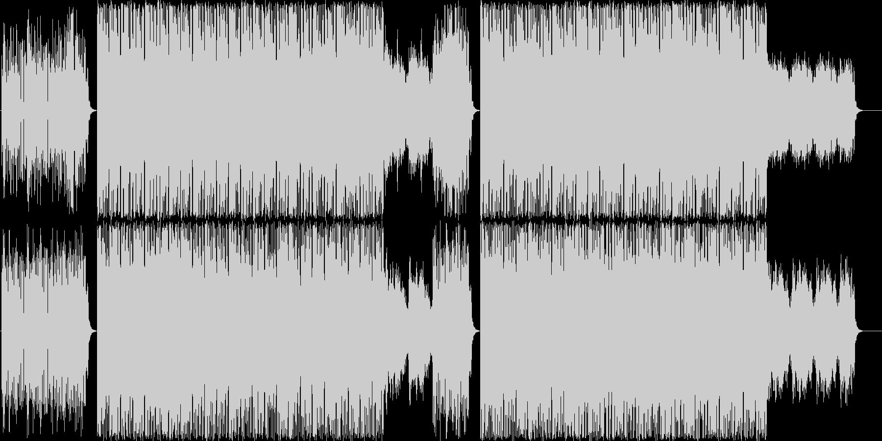 エレクトロニックフュージョンの未再生の波形