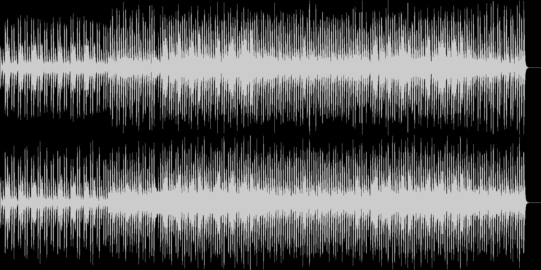 クリスマスの定番ソングの未再生の波形