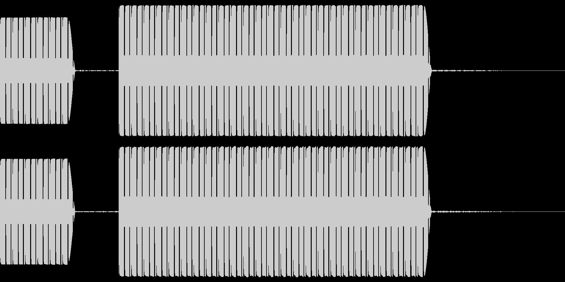 不正解音 ブッブー  (スタンダード)の未再生の波形