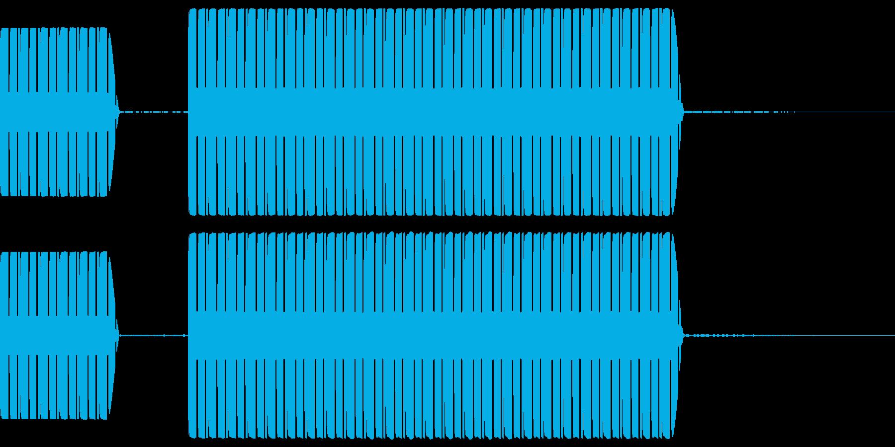 不正解音 ブッブー  (スタンダード)の再生済みの波形
